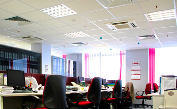 Офис после установки системы VRV
